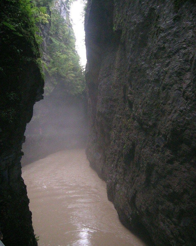 garganta del río Aares
