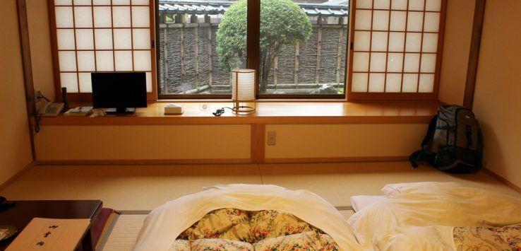 alojamientos en Japón
