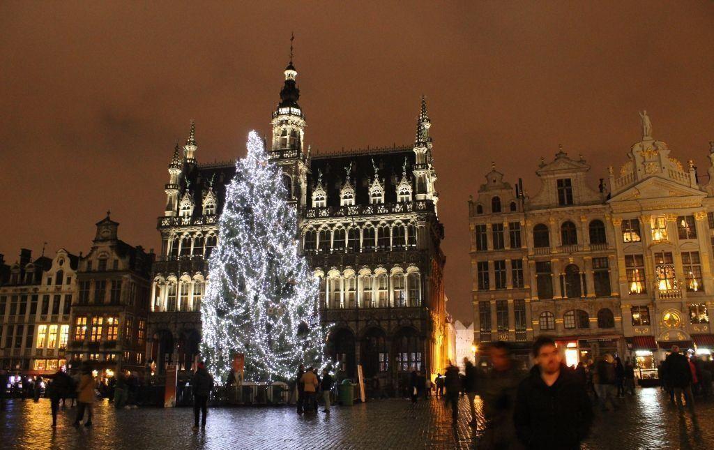 Bruselas en Navidad