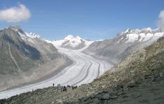 glaciar del Aletsch