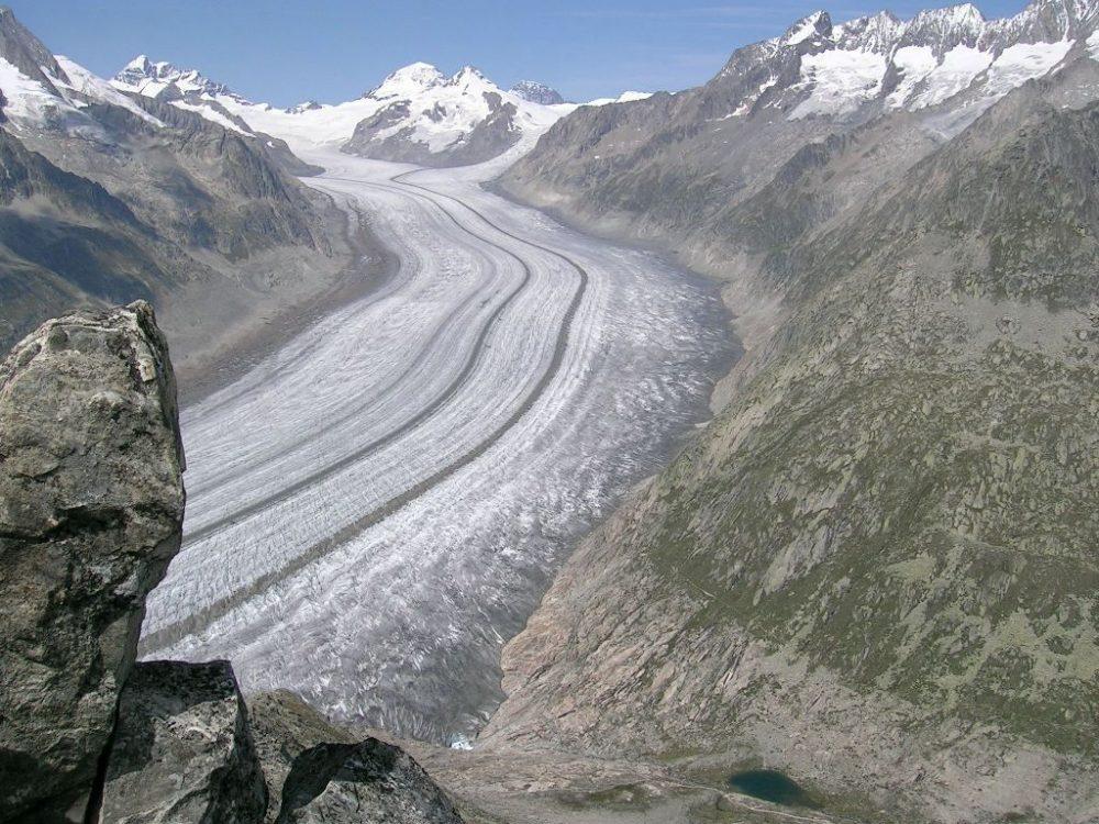 glaciar del Aletsch, Suiza