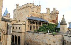 castillo de Olite, España