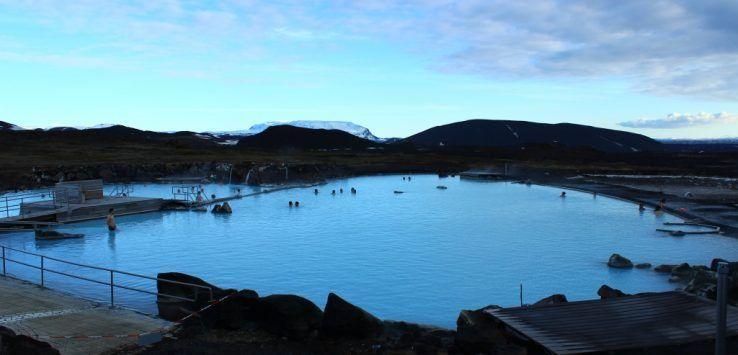 baños del Mývatn, Islandia
