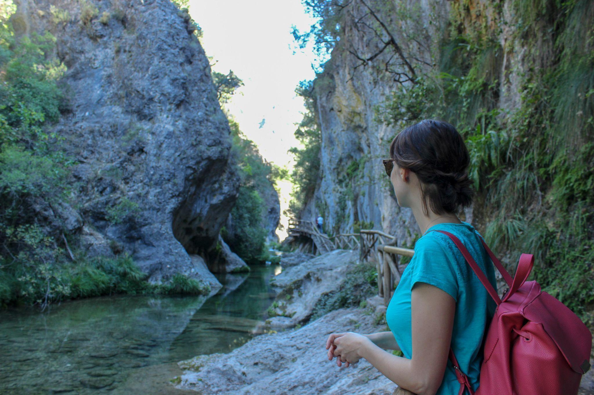 senderismo por la sierra de Cazorla