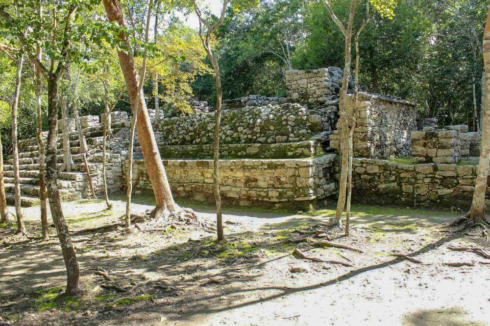 visitar las ruinas de Cobá